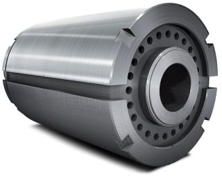 Forged steel Extrusion cylinder