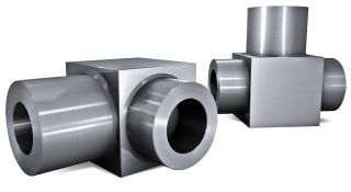 Forged steel T-块
