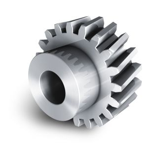 Forged steel Worm gear